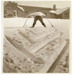 [Skiing and snowfields, c. 1930s, by Sam Hood