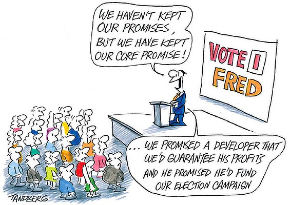 Cartoon - Tandberg, courtesy of The Age.