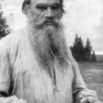 Leo Tolstoy with a beard