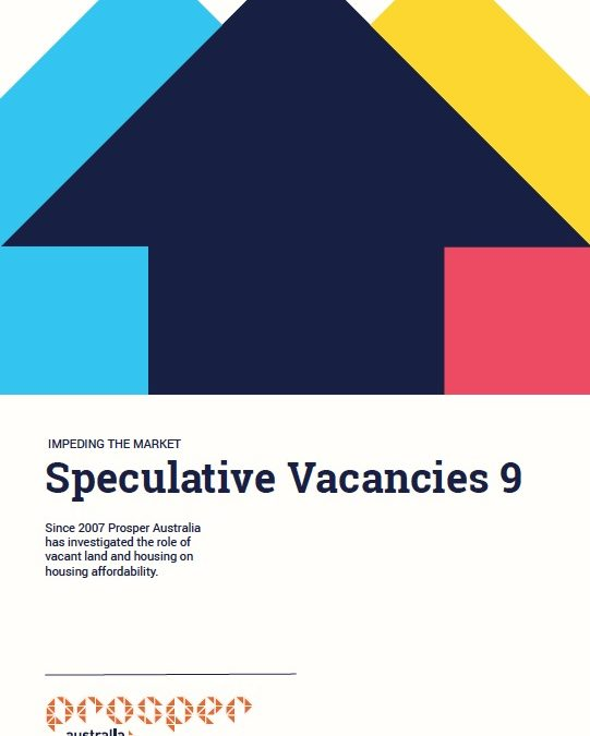 Speculative Vacancies 9 – Impeding the market