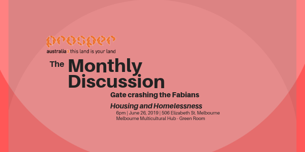 The Monthly Discussion – Gate crashing the Fabians