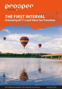 Front cover of The First Interval report
