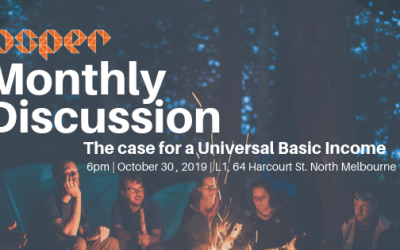 October Monthly Discussion: the case for a universal basic income