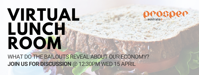 Virtual Lunch Room: What do the bailouts reveal about our Economy?